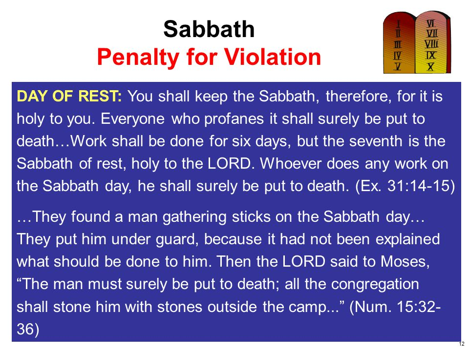 13 Sabbatarians Teach: The Law of God and the Law of Moses are different laws.