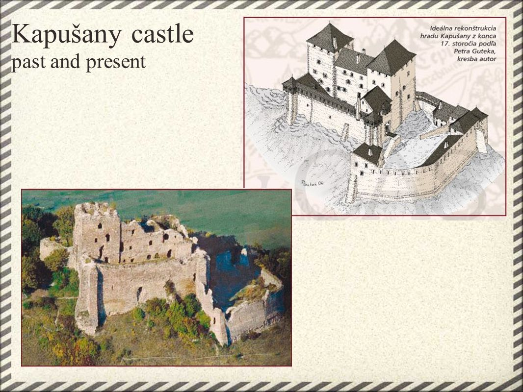 Šariš castle one of the biggest medieval castels in Slovakia-his total built- up area is more than 4,5 ha.