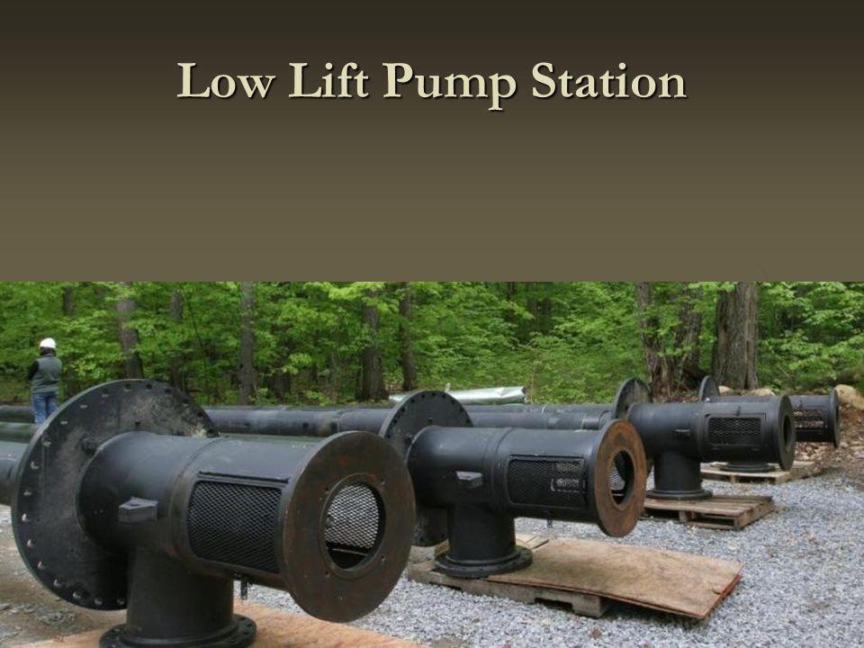 Low Lift Pump Station
