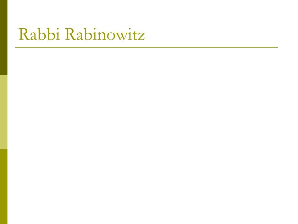 Rabbi Rabinowitz