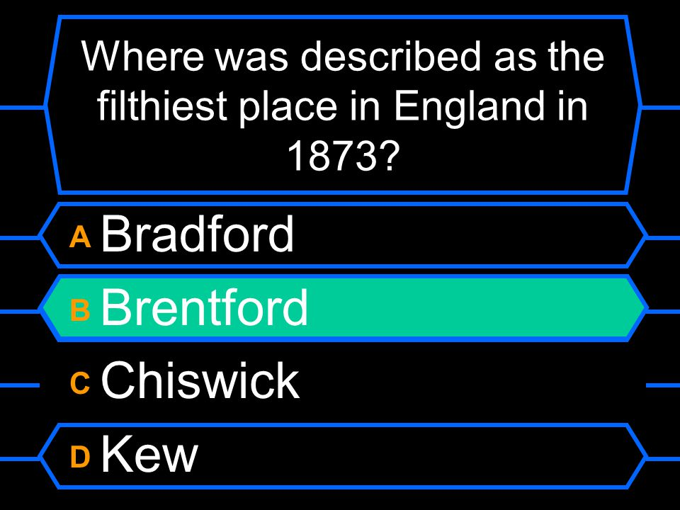 Where was described as the filthiest place in England in 1873.