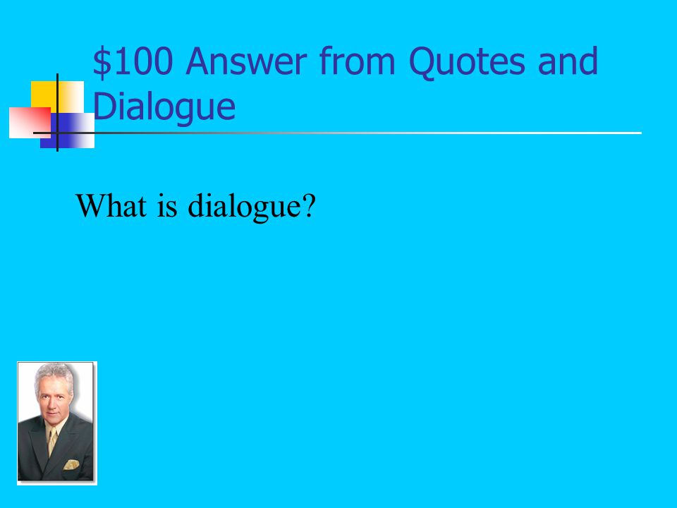 $100 Answer Quotes and Dialogue Why did you disobey me Stacey was chasing after T.J. That's not a good reason to disobey your mother!