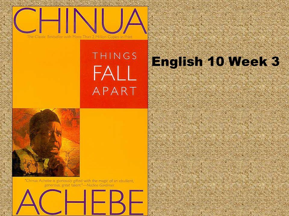 English 10 Week 3