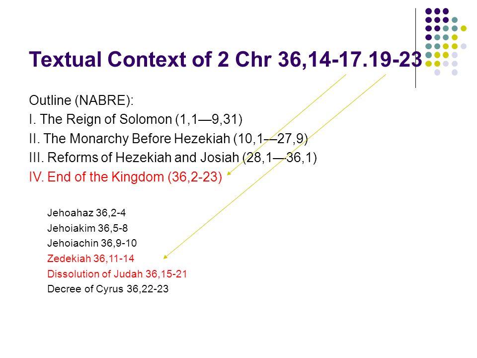 539 Cyrus the Persian victory 538 Decree of Freedom 520 Temple Rebuilt 500 458 Ezra's mission 445 Nehemiah arrives 400