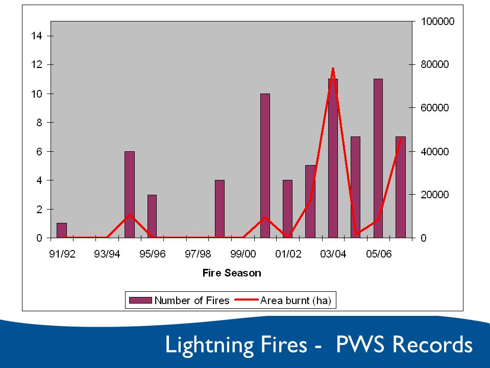 Lightning Fires - PWS Records