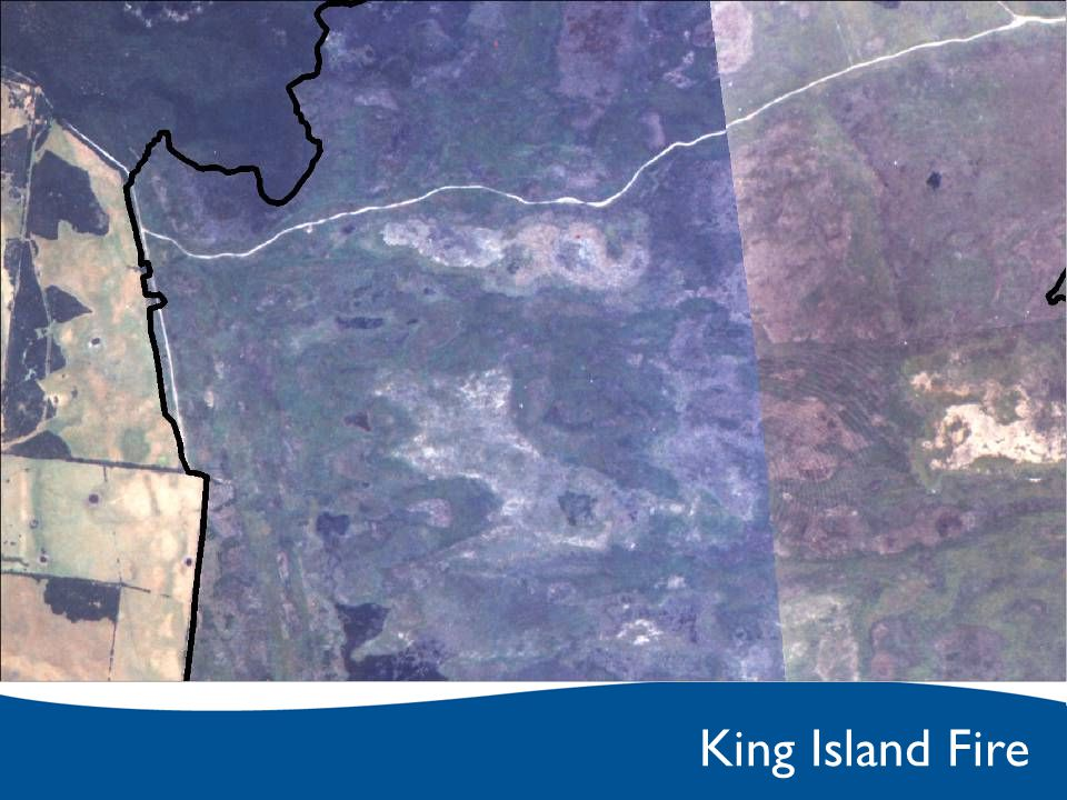 King Island Fire