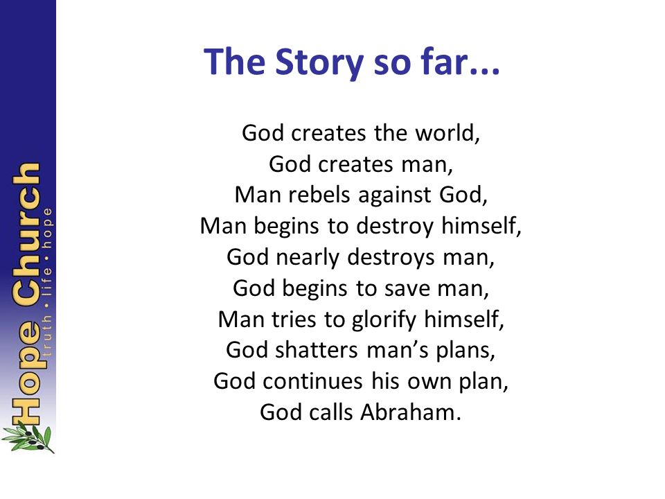 Some time later God tested Abraham.He said to him, Abraham! Here I am, he replied.