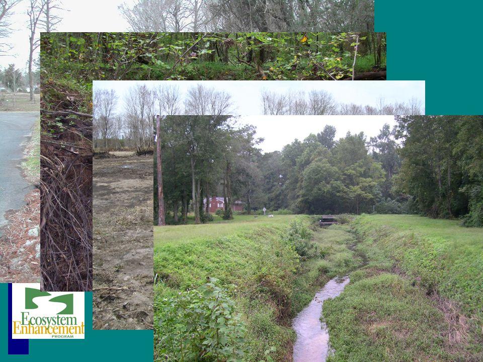 Impacted, degraded streams Ecosystem Enhancement Program