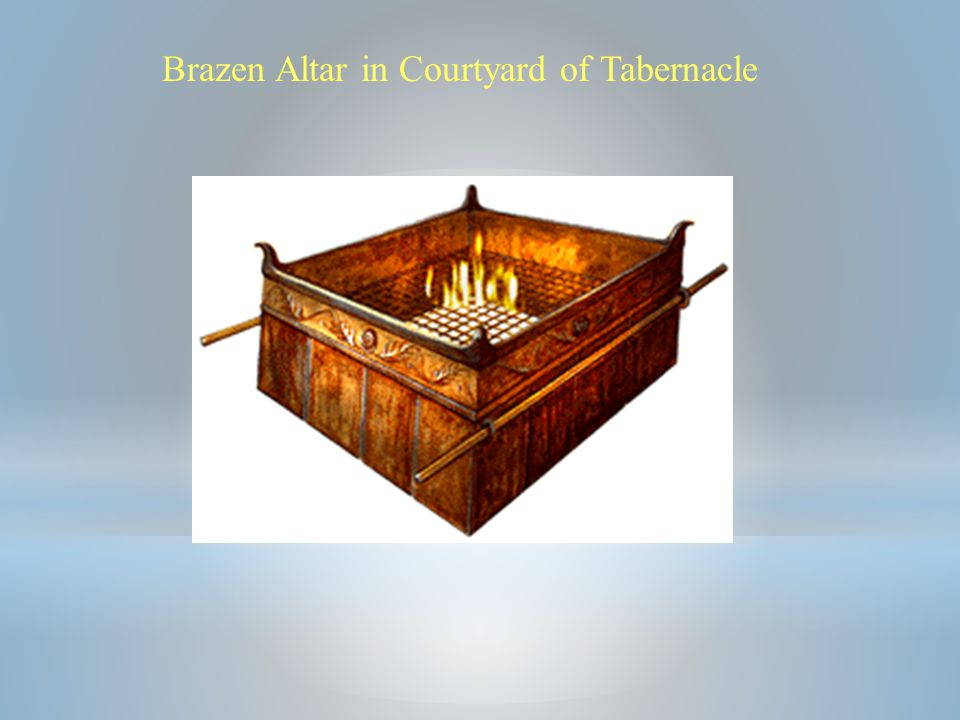 Brazen Altar in Courtyard of Tabernacle
