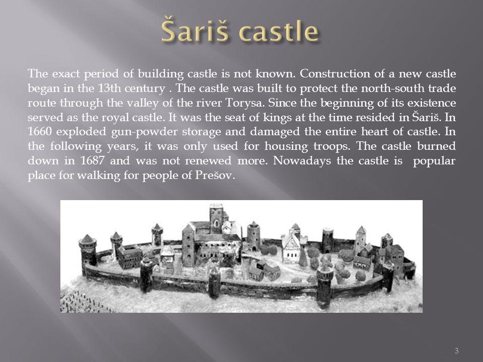 2 Šariš castle 3-4 Brekov castle 5 Spiš castle 6-8 Stará Ľubovňa castle 9 Kapušany castle 10 Plaveč castle 11 Čičava castle 12 Sources 13