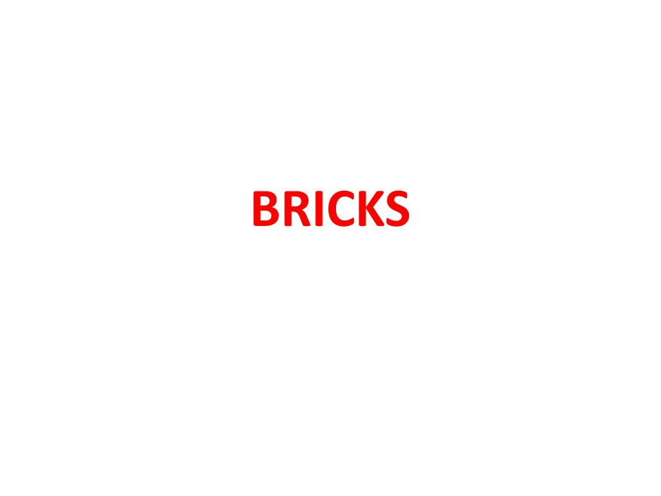 2.Silica A good brick earth should contain about 50 to 60 percent of silica.