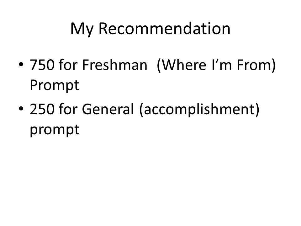 Please critique my UC essay Freshman Prompt?