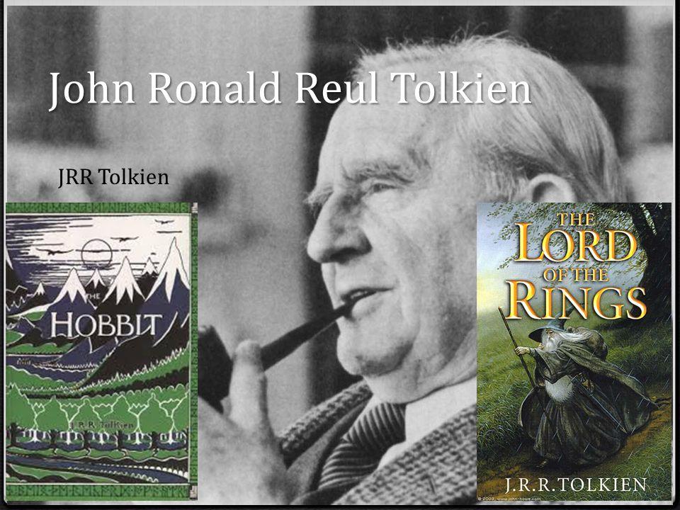 John Ronald Reul Tolkien JRR Tolkien