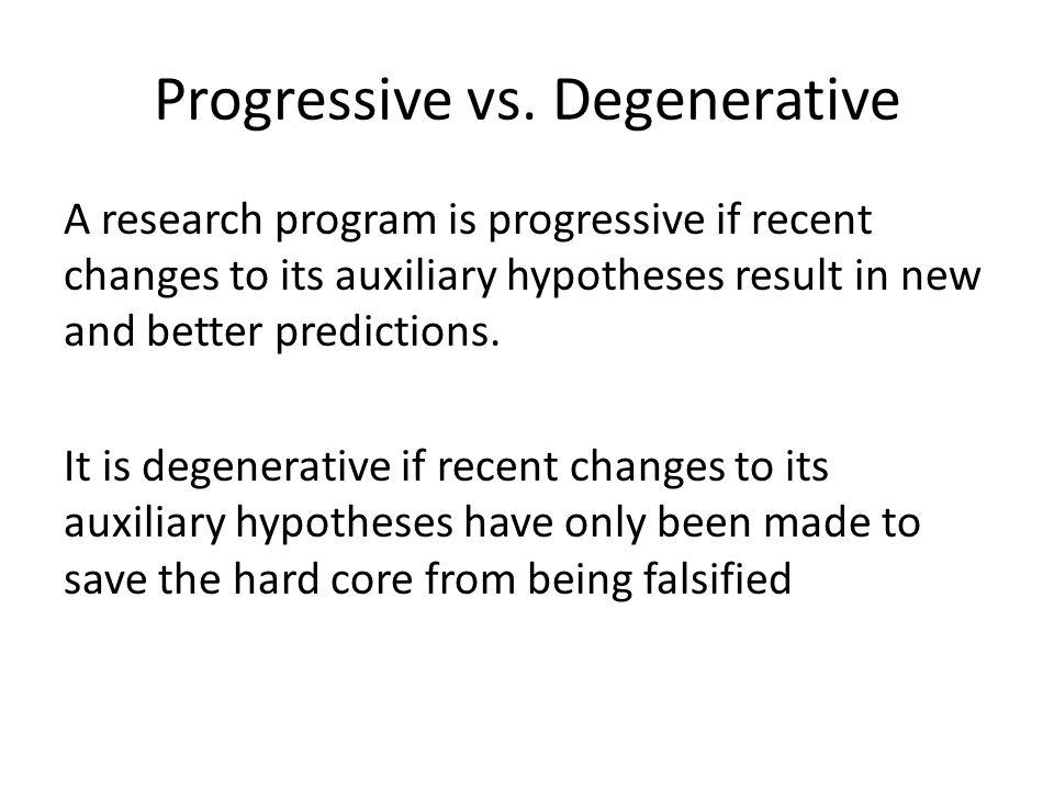 Progressive vs.