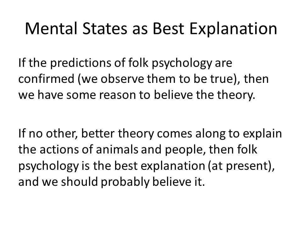 Churchland vs. Folk Psychology