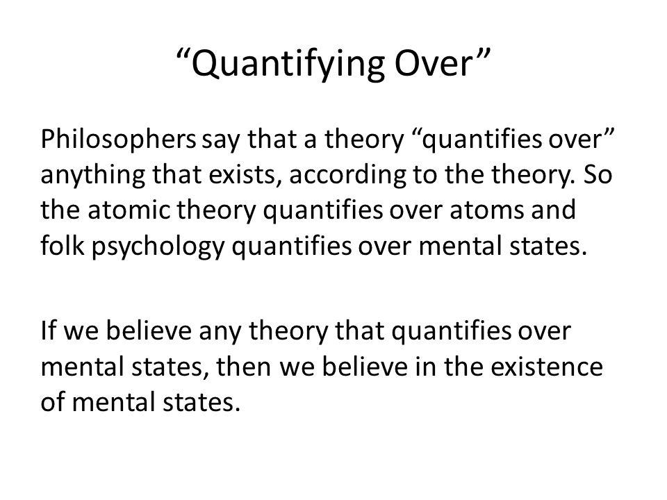 Three Arguments for Eliminativism Ravenscroft presents three of Churchland's arguments for eliminativism: 1.Folk psychology is a degenerative research program.