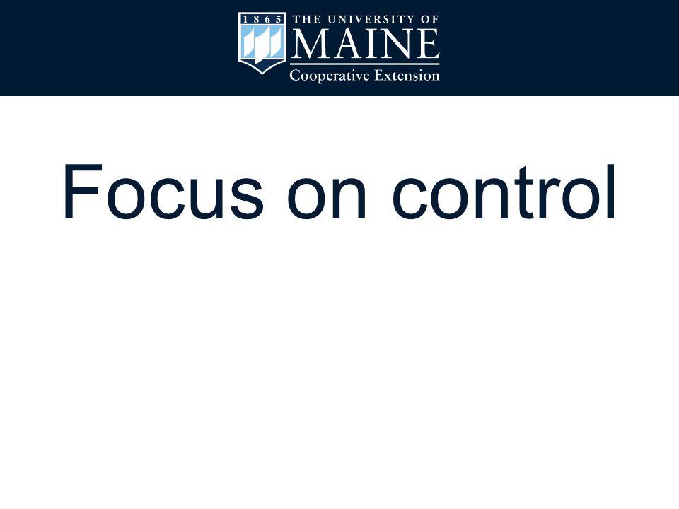 Focus on control