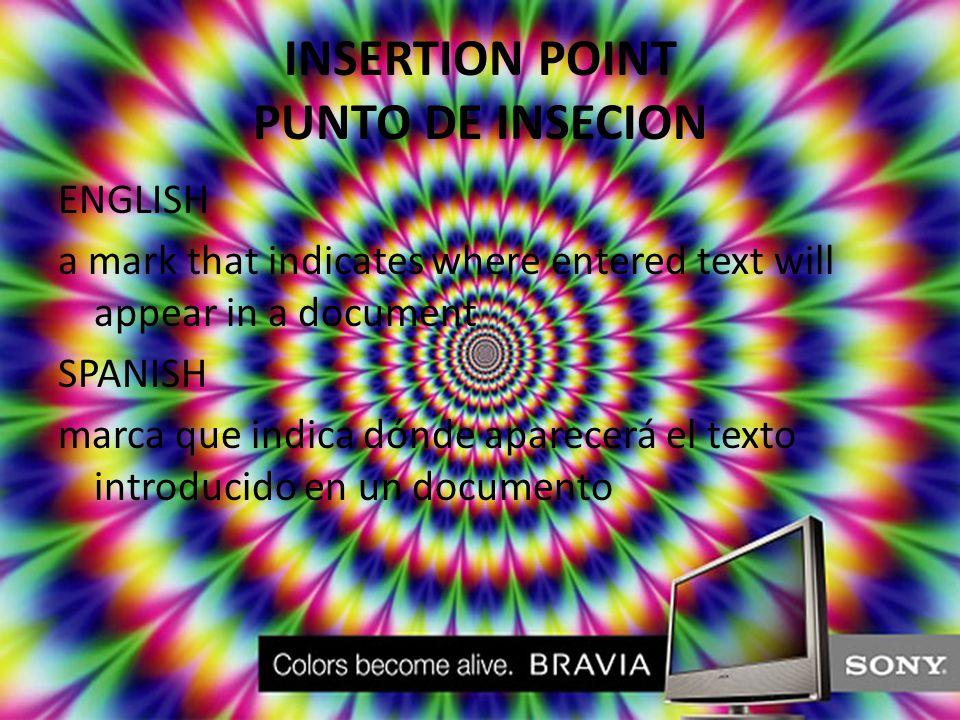 WORD WRAP SALTO AUTOMATICO DE LINEA ENGLISH the automatic starting of a new line when the previous line is full SPANISH inicio automático de un nuevo renglón cuando el anterior está completo