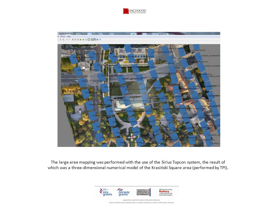 A three-dimensional Sirius numerical model is a geodetic record obtained using aerial three-dimensional photogrammetry and positioned with the use of a GPS base station with an accuracy to of one centimetre..