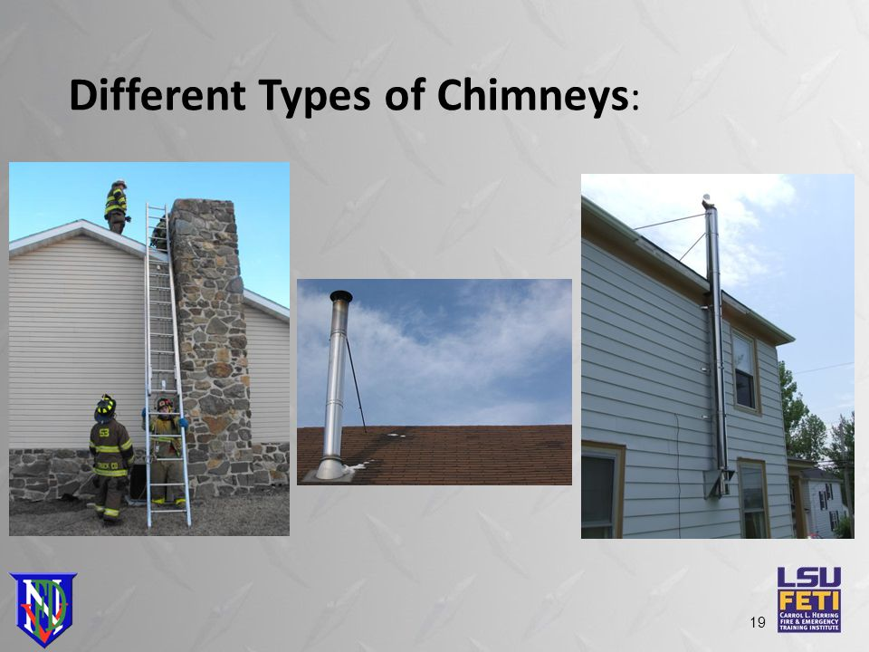 Different Types of Chimneys : 19