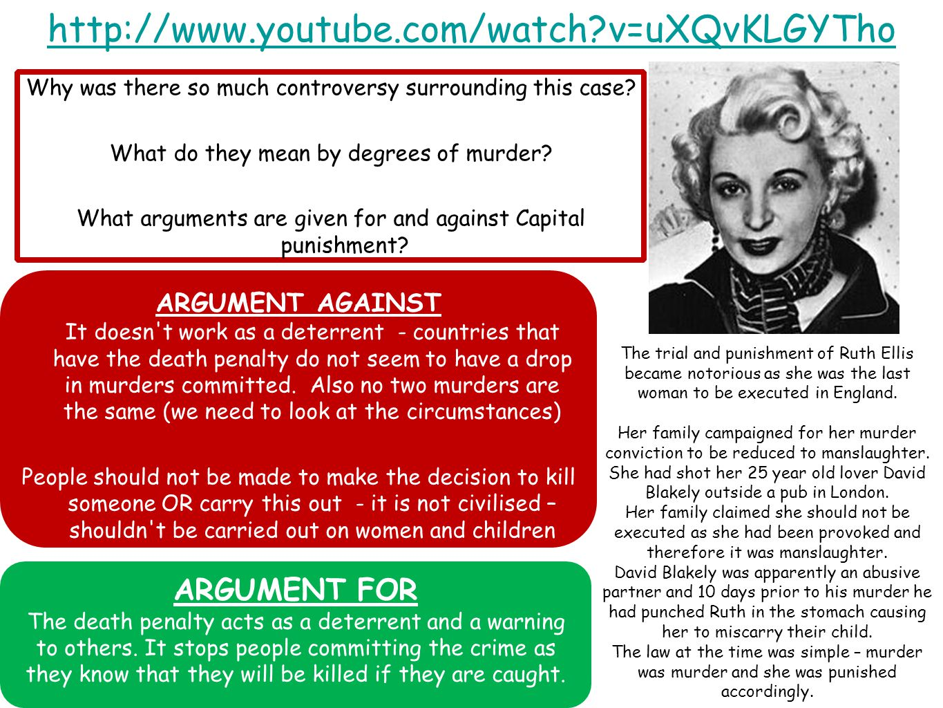 http://www.youtube.com/watch v=uXQvKLGYTho Why was there so much controversy surrounding this case.