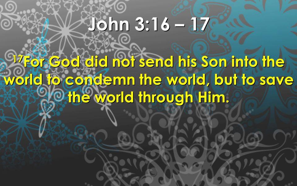 Zechariah (means God remembers) Elizabeth (Means God Promise – Eli, Zabeth - Promise) God remembered His promises and gave them John ( means Grace, favor)
