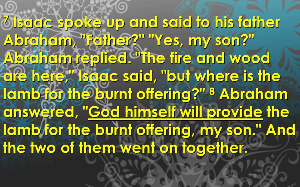 Luke 1:5-7 5 There was in the days of Herod, the king of Judea, a certain priest named Zacharias, of the division of Abijah.