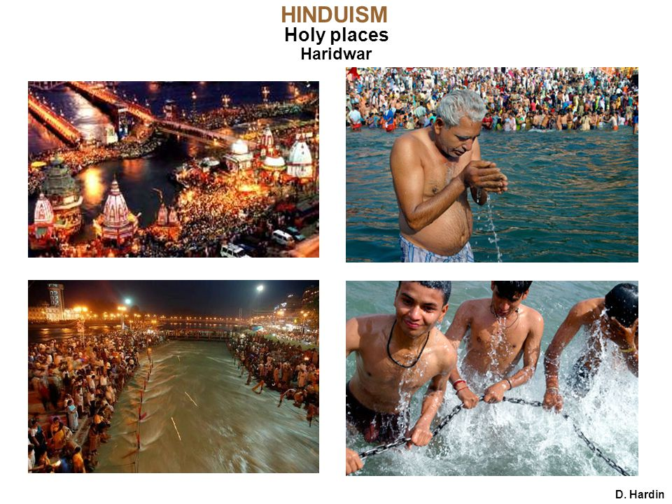 HINDUISM Holy places Haridwar