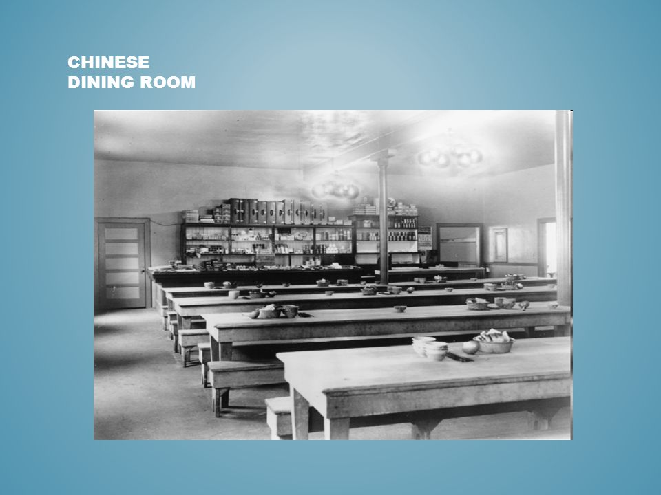 CHINESE DINING ROOM