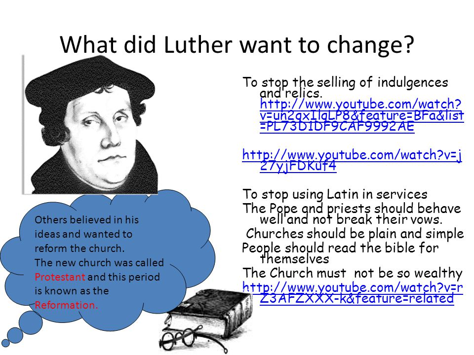 Memory Challenge! What are the main differences between a Roman Catholic and a Protestant Church?