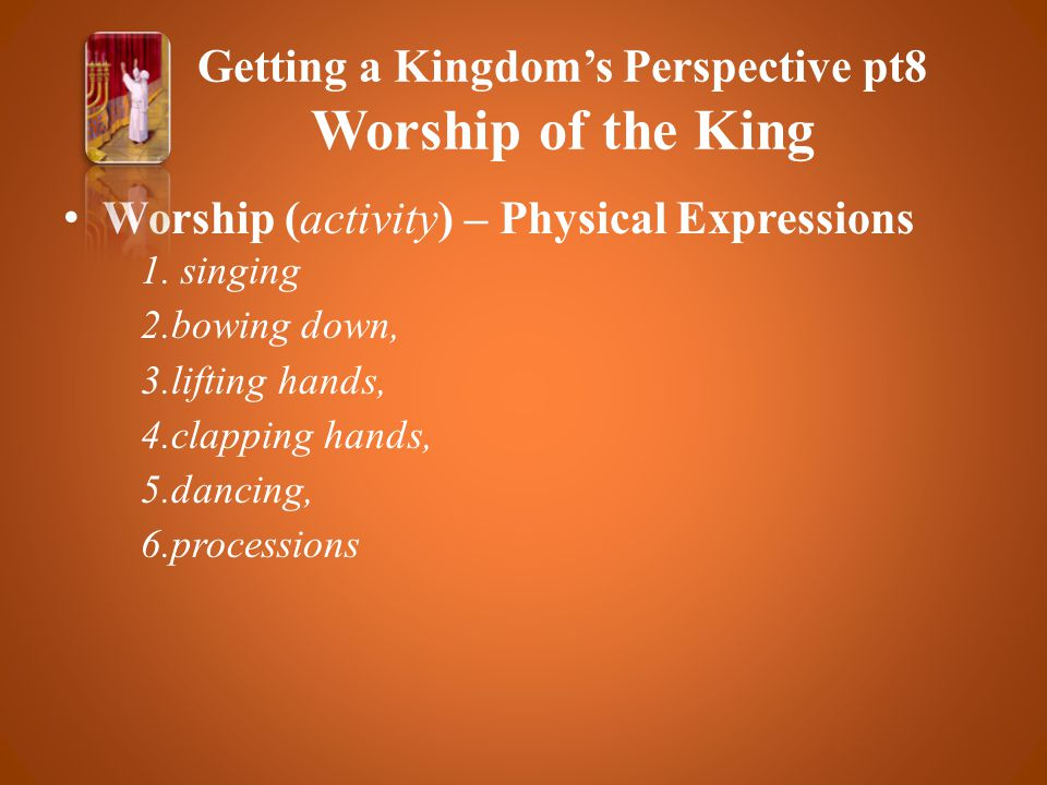 Worship (activity) – Physical Expressions 1.