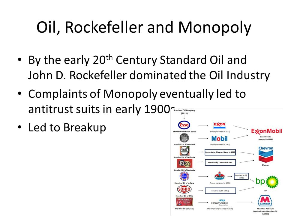 Oil, Rockefeller and Monopoly How did Standard Oil get so big.