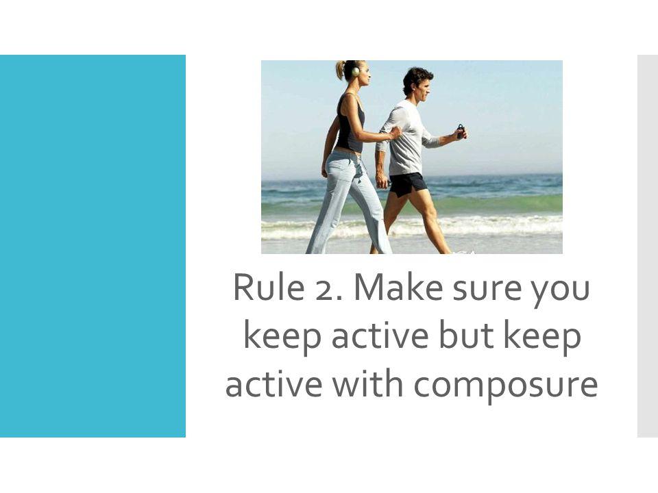 Rule 3. Make sure you Lift Heavy Things Often.