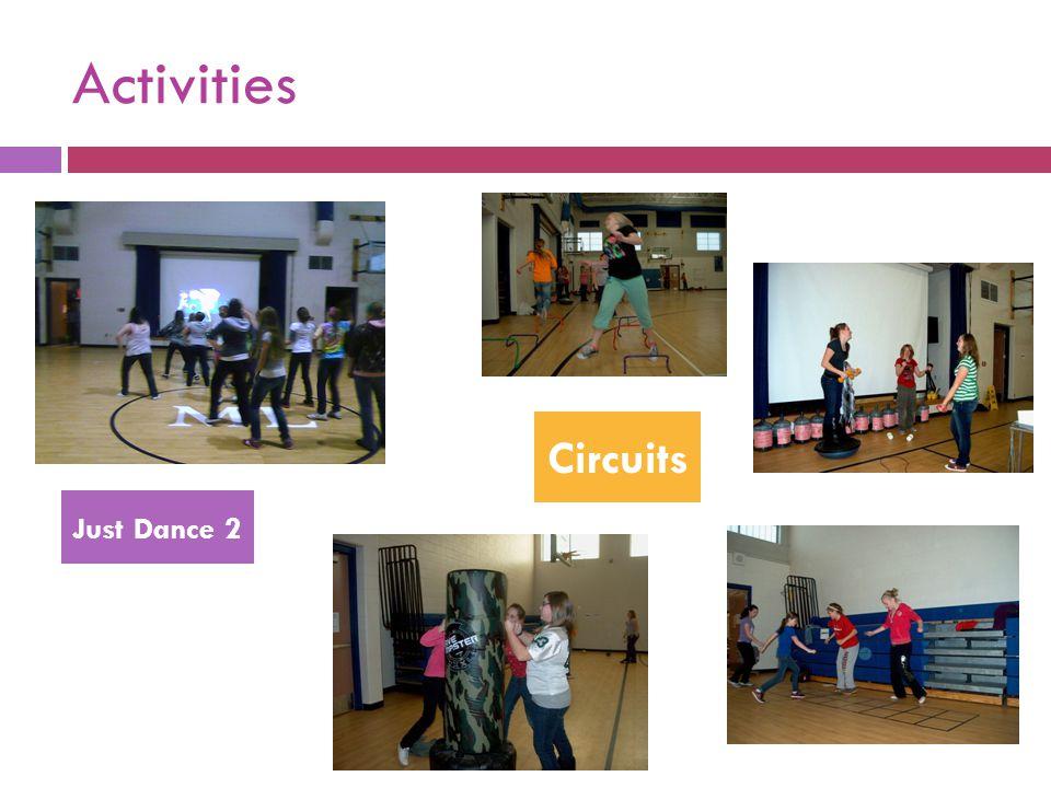 Activities Just Dance 2 Circuits