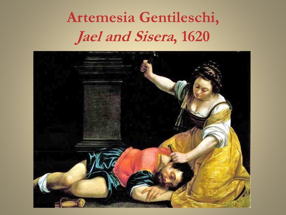 Artemesia Gentileschi, Jael and Sisera, 1620