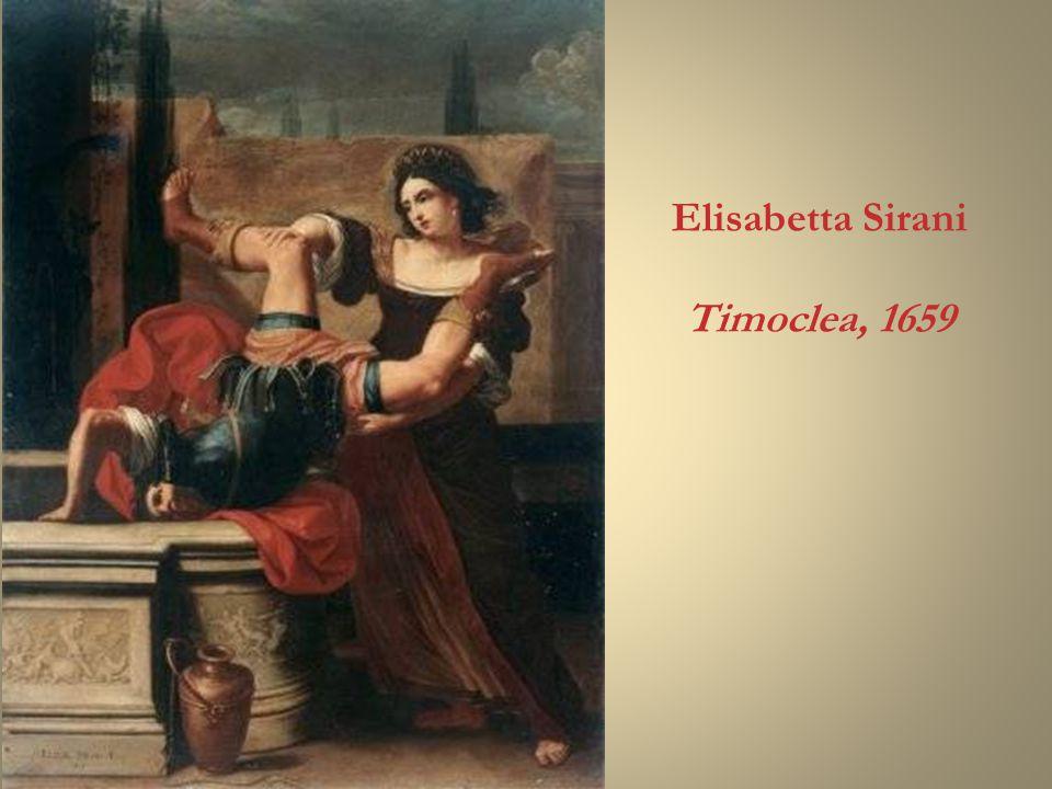 Elisabetta Sirani Timoclea, 1659