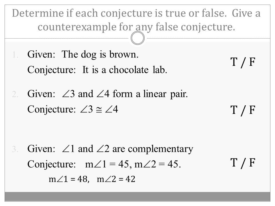 Law of Syllogism 1. 2. 3.