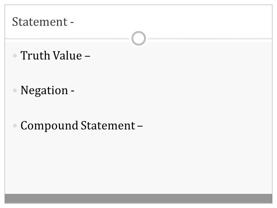 Determine whether the 3 rd statement is valid based on the given information.