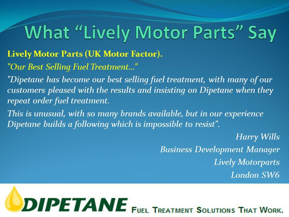 Lively Motor Parts (UK Motor Factor).