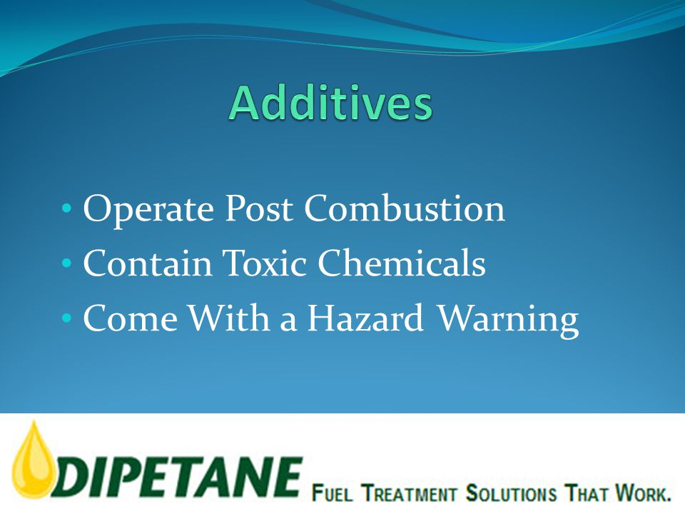Operate Post Combustion Contain Toxic Chemicals Come With a Hazard Warning