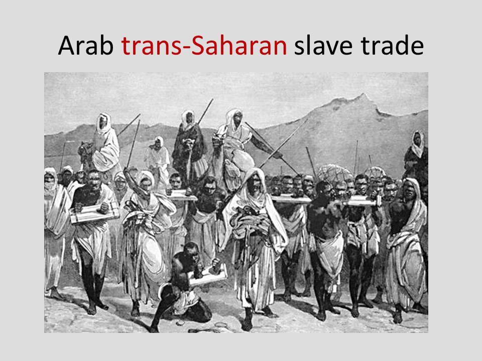 Arab trans-Saharan slave trade