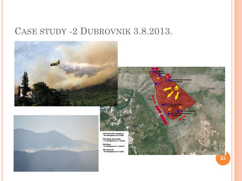 C ASE STUDY -2 D UBROVNIK 3.8.2013. 23