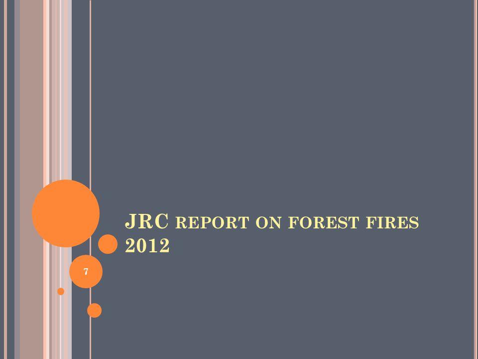 Expert Group on Forest Fires (EGFF). 8