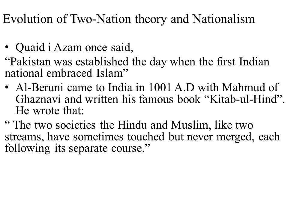 Recap of today's lecture What is Nationalism.