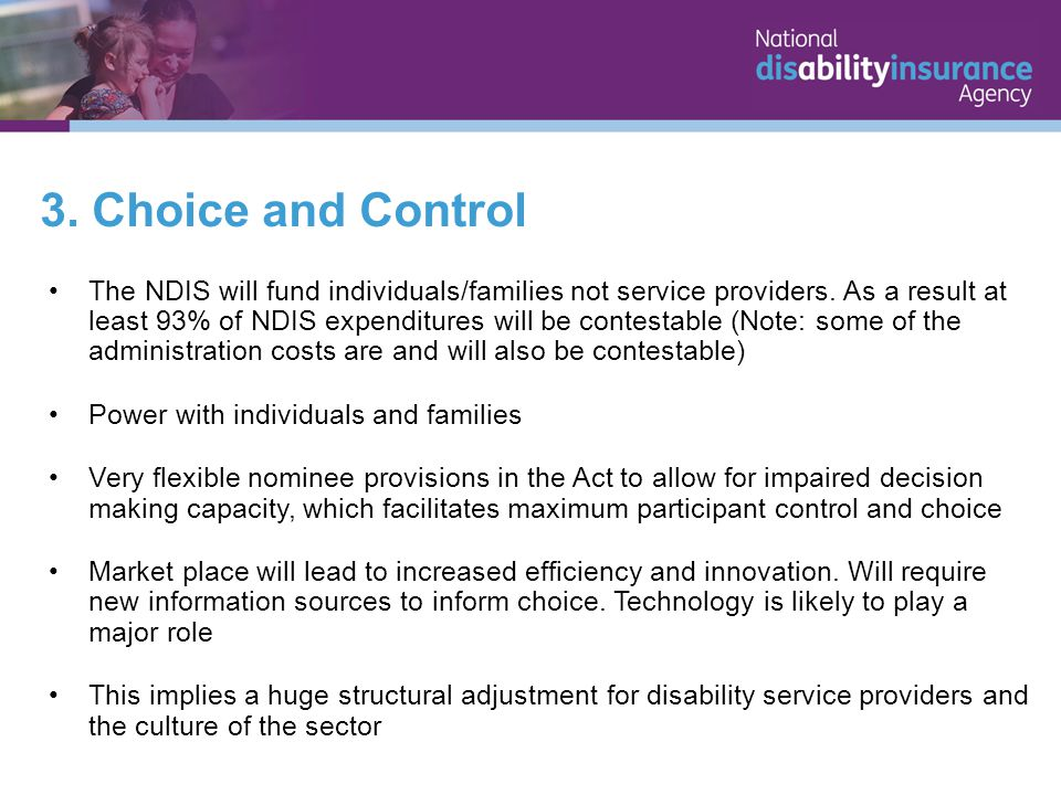 The NDIS is an exemplar of governments doing what people cannot do for themselves.