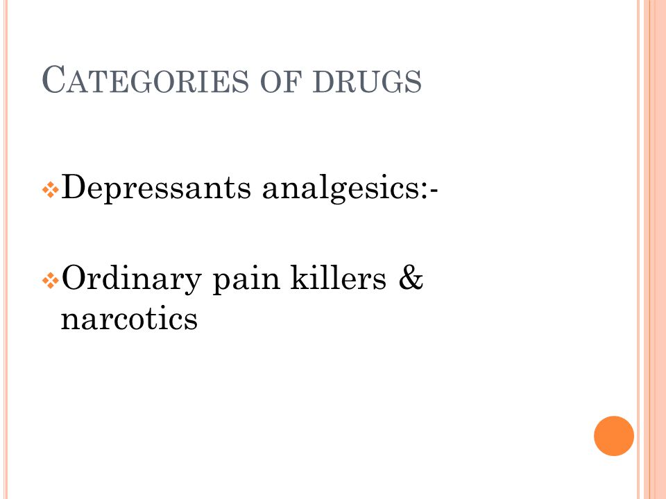 O RDINARY PAIN KILLERS  Brufen  Panadol  Asprin  They account for more deaths than all the narcotics combined because of availability.