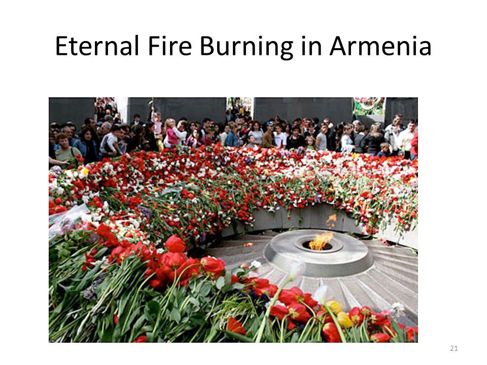 Eternal Fire Burning in Armenia 21