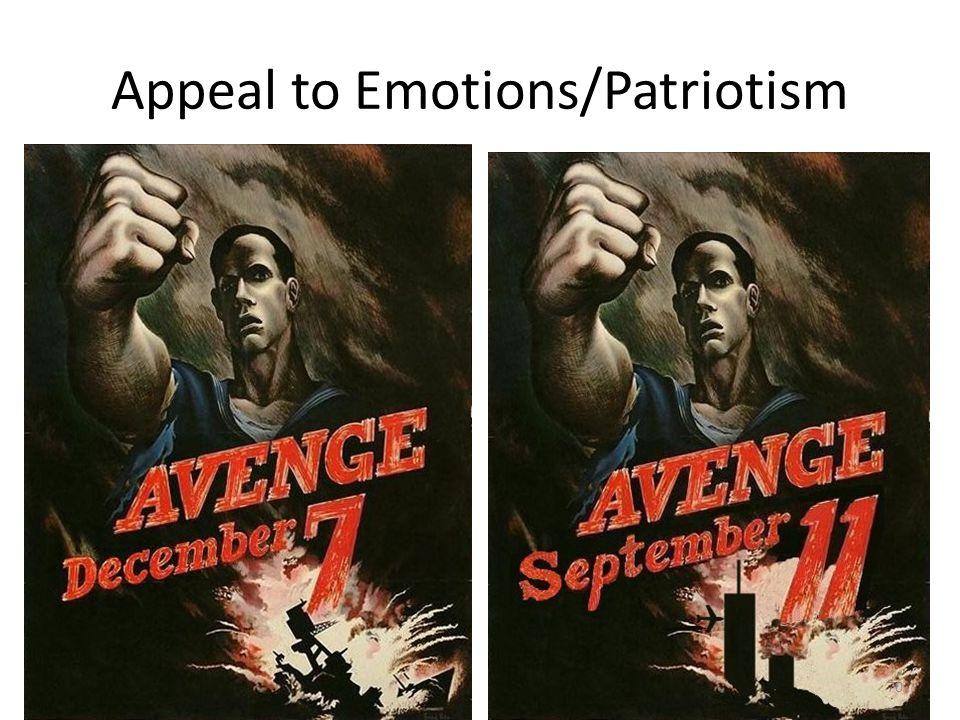 Appeal to Emotions/Patriotism 70