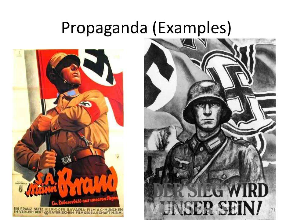Propaganda (Examples) 71