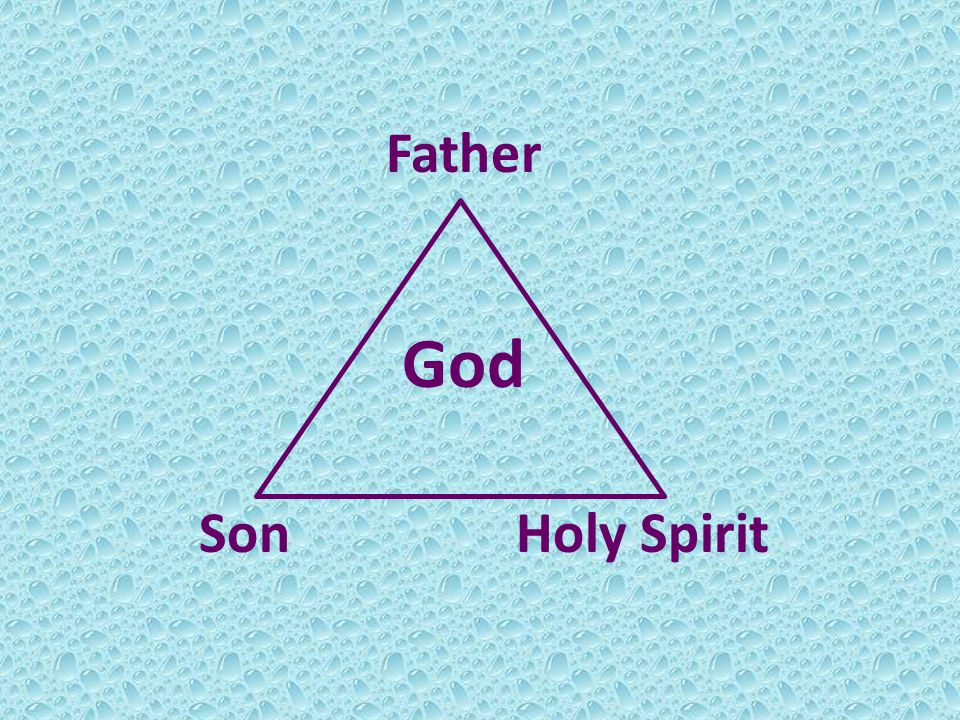 Father God Son Holy Spirit